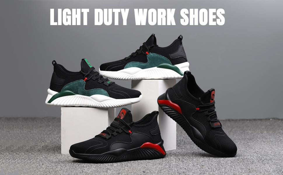 HISQIM Steel Toe Shoes