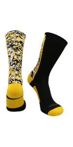 TCK Football Socks Basketball Socks Athletic Crew Socks Lacrosse Socks