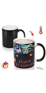 Halloween Heat-sensitive Color Changing Mug