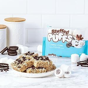 Stuffed Puffs Cookies 'n Creme Krispies