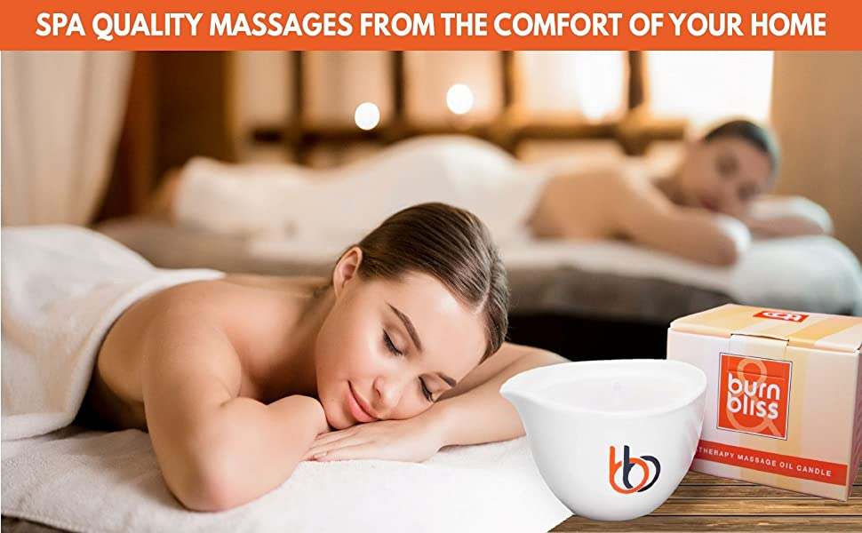 Spa quality massages from the comfort of your home