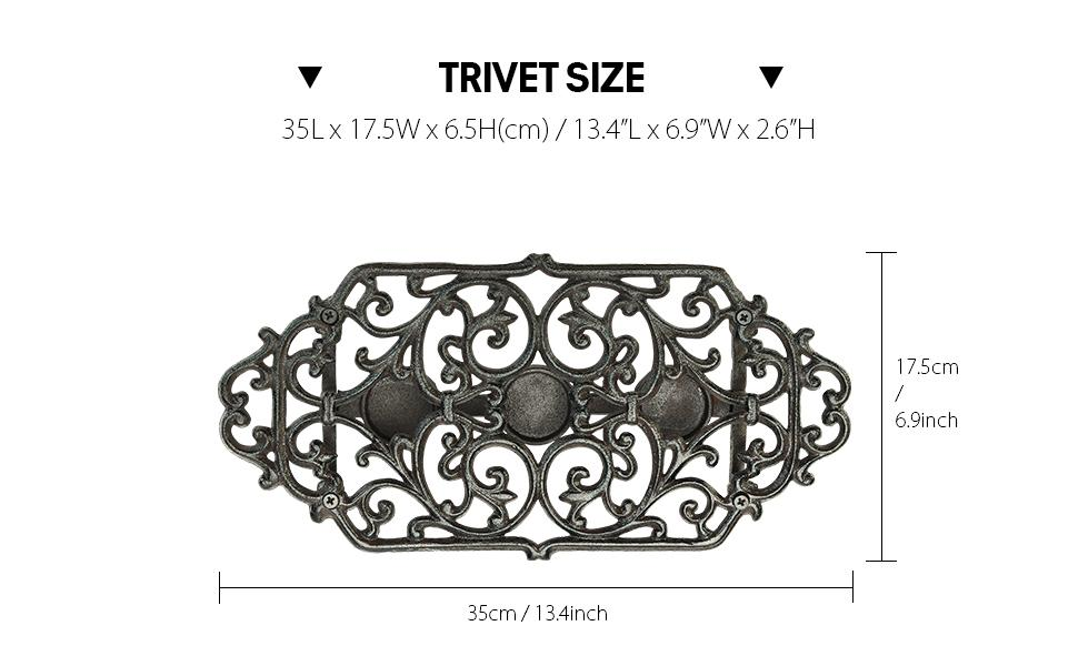 triver size