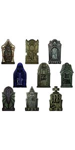 Halloween Tombstone Yard Signs