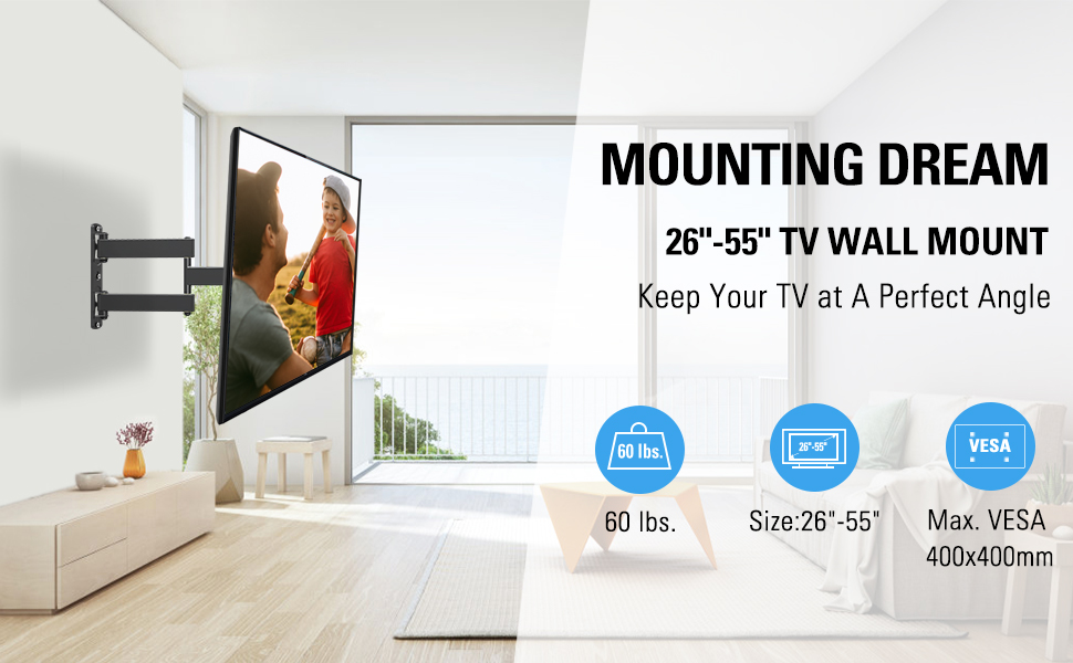 Mounting Dreaming MD2377 tv wall mount
