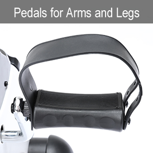 Pedals for arms and legs