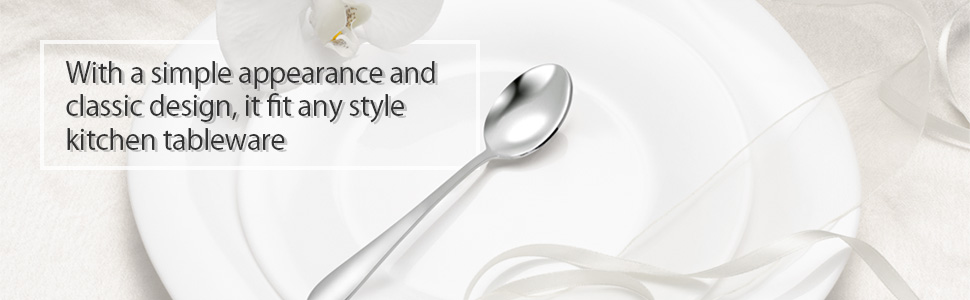 With a simple appearance and classic design, it fit any style kitchen tableware