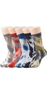 Tie Dye Casual Socks