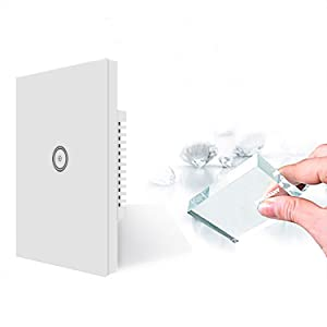 Glass touchscreen switch