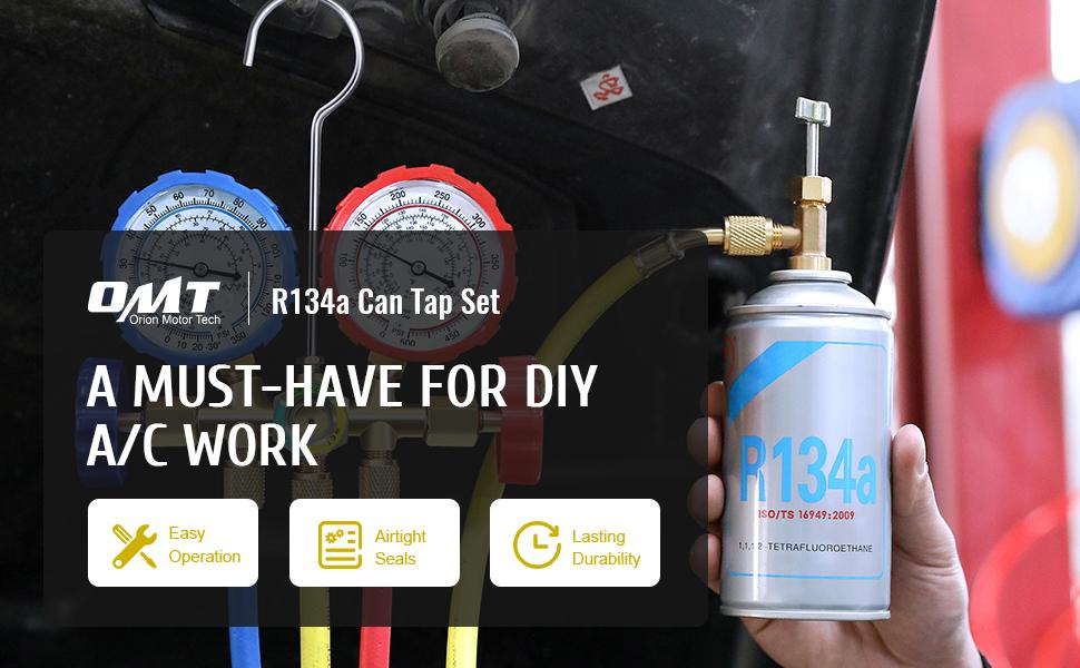 R134a can tap