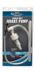 Star brite,Pro Star, Lower Unit, Quart Pump