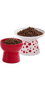 6.25 inch ceramic cat bowls