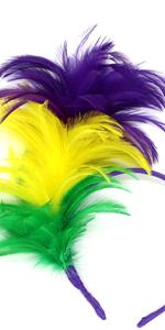 Fascinator with Feathers Headband for Women Kentucky Derby Wedding Tea Party Headwear