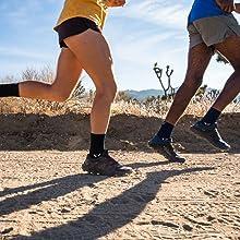 Aspire four Trail Running Socks, Mens and womens running socks