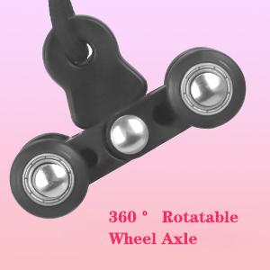 360 ° Rotatable Wheel Axle
