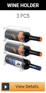 Stackable Wine Storage Rack - 3pcs