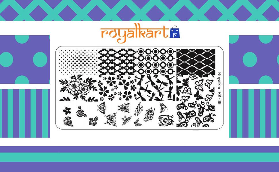 Royalkart Nail art stamper