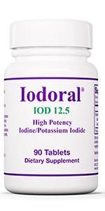 Optimox Iodoral 12.5mg