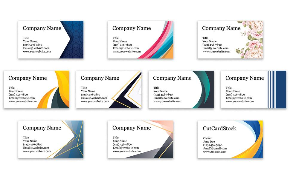 business cards custom cards 3.5 x 2 thick sturdy custom personalized cards printed
