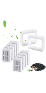 Leewakia Cat Water Fountain Replacement Filters