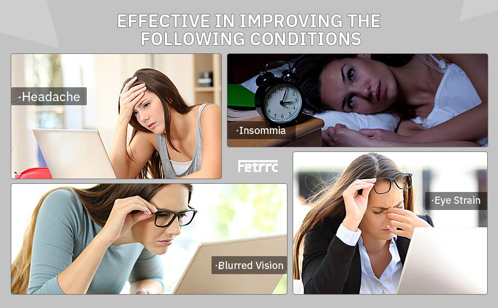 Fetrrc reading glasses can effectively improve the uncomfortable life experience.