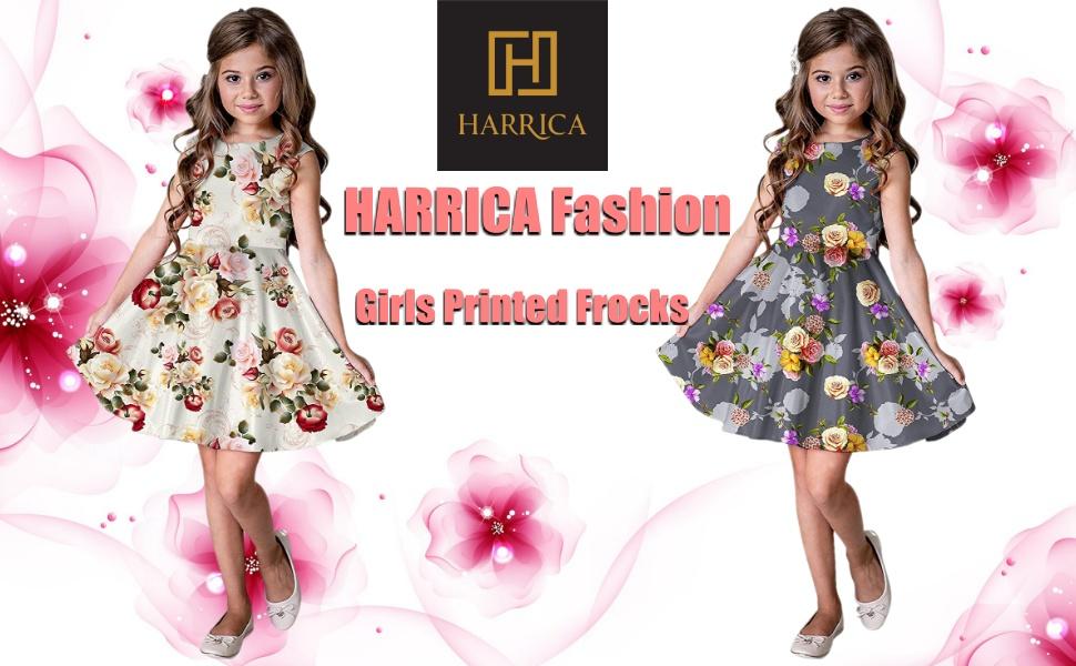 girls kids dresses frocks party wear casual daily wear cotton fancy gown