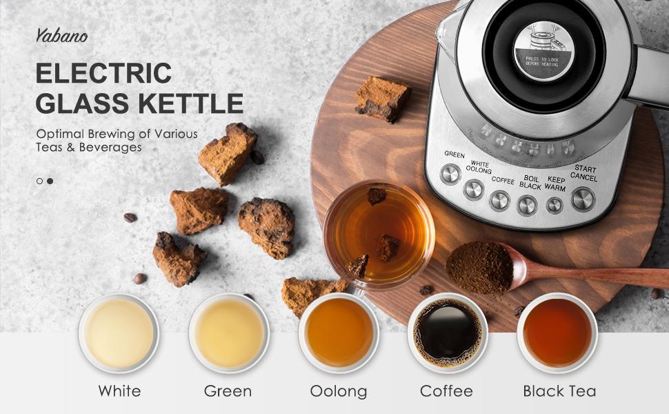 Yabano Electric Glass Kettle