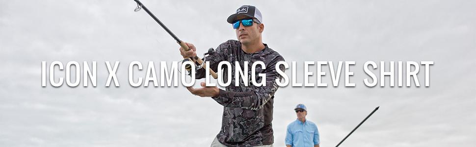 huk fishing shirt, long sleeve fishing shirt, fishing shirt for men, performance, workout,rashguard