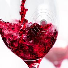 wine, clear wine, wine after aeration, wine aerator
