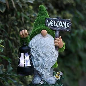 resin gnome figurine