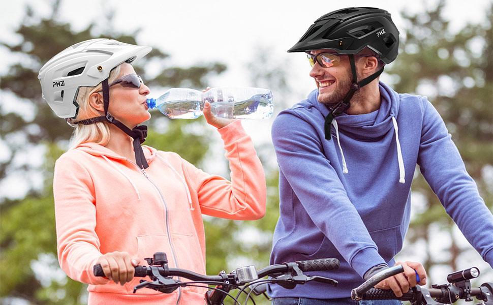 women men bike helmet adjustable