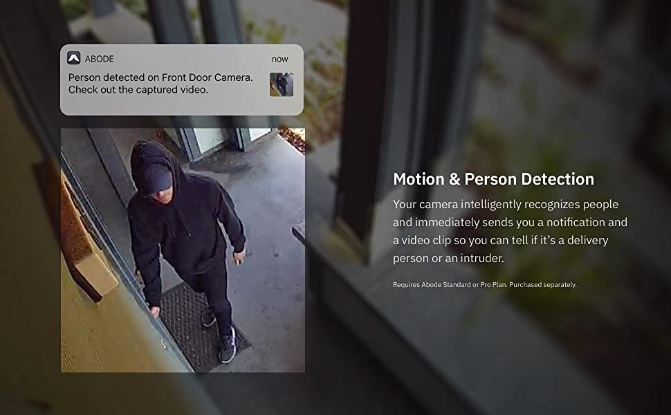 Person Detection security Camera