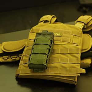 Kolchan magazine pouch fits almost all magazines, because the size of a pouch is adjustable