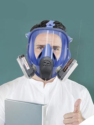 gas facepiece