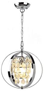 crystal modern pendant light