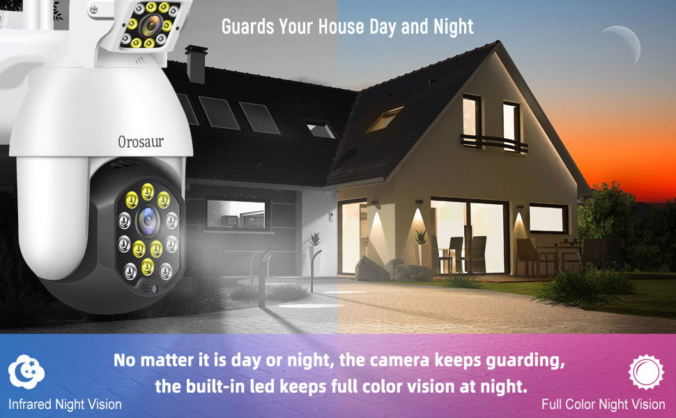 Night Vision Cameras security outdoor, wifi wireless cameras for home security, ptz camera outdoor
