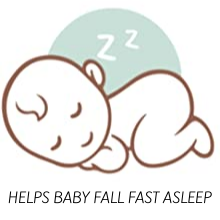 HELPS BABY FALL FAST ASLEEP