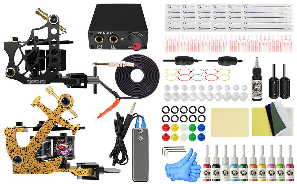 what tattoo kit contains