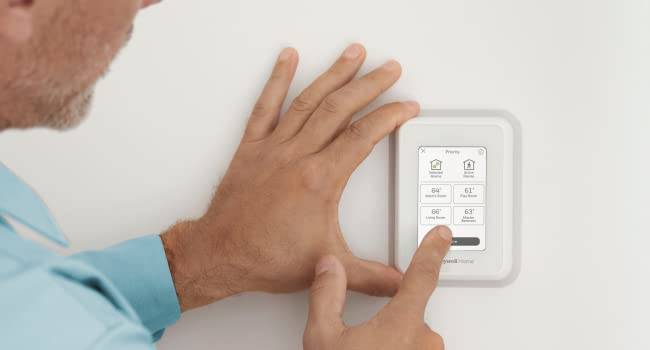 Easily installing the T9 Smart Thermostat at home