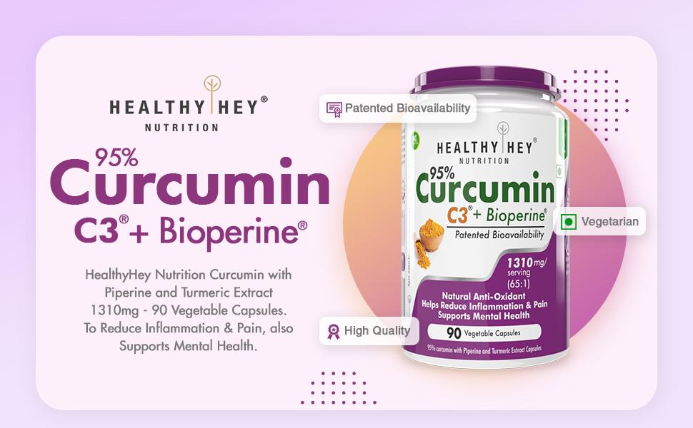 Curcumin + Bioperine