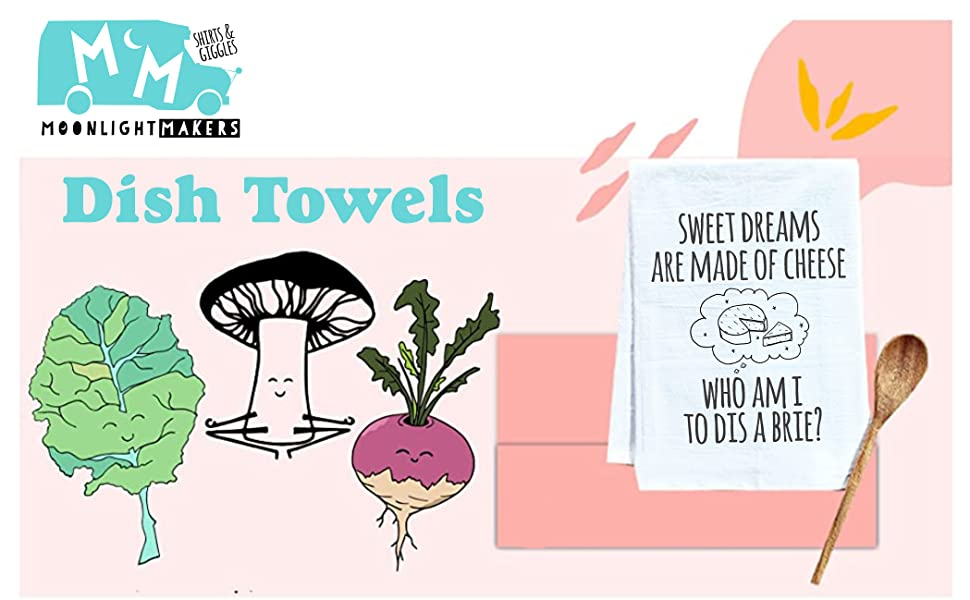 Handmade Dish Towels From Moonlight Makers