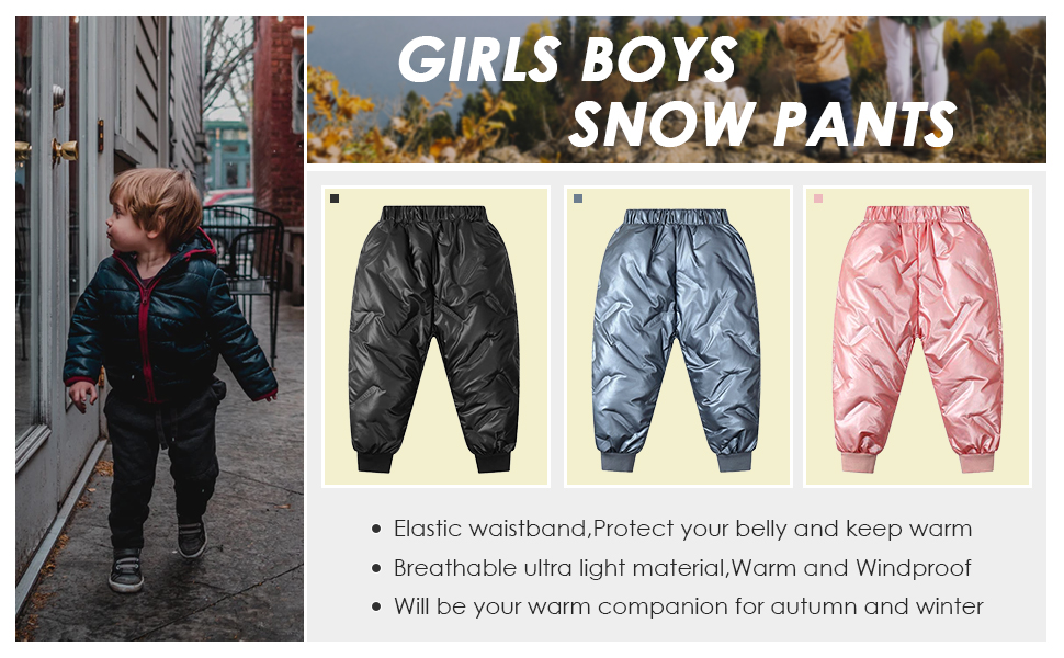 ski snow pants kids