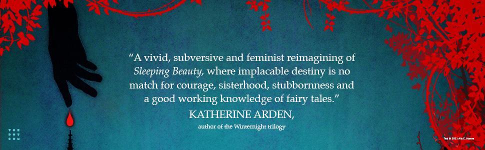 A Spindle Splintered Alex E. Harrow Katherine Arden quote