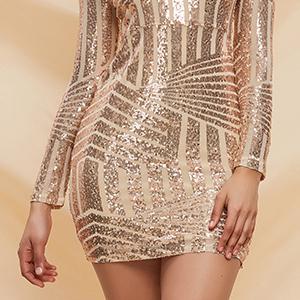 Women's short mini dress