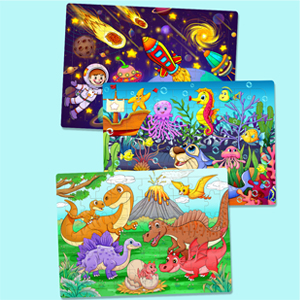 toddler puzzles dinosaur toys for boys age 4