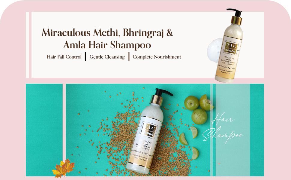 TAC - The Ayurveda Co. Methi Shampoo