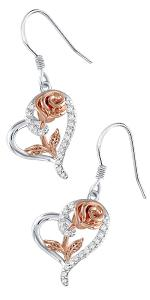 mother day heart jewelry set