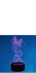 Minnie 3D Night Light