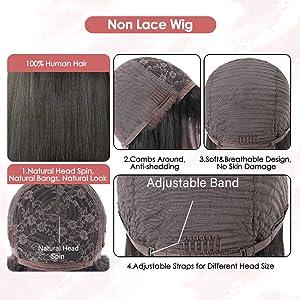Non Lace Wig