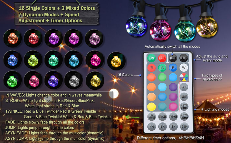 color changing patio lights