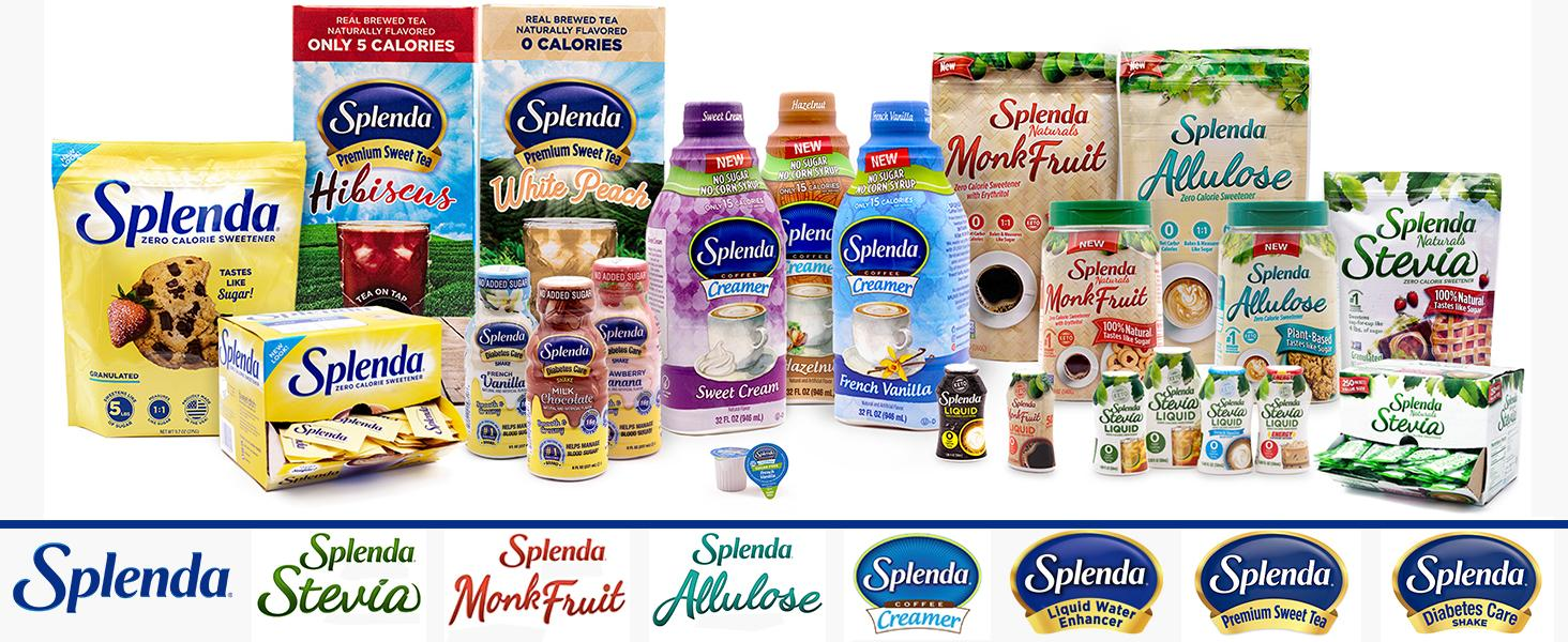 Splenda Portfolio of low and zero calorie solutions